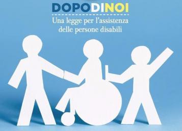 """Avviso pubblico per l'attivazione di progetti """"dopo di noi"""" in favore di persone con disabilità grave prive di sostegno familiare anno 2020"""