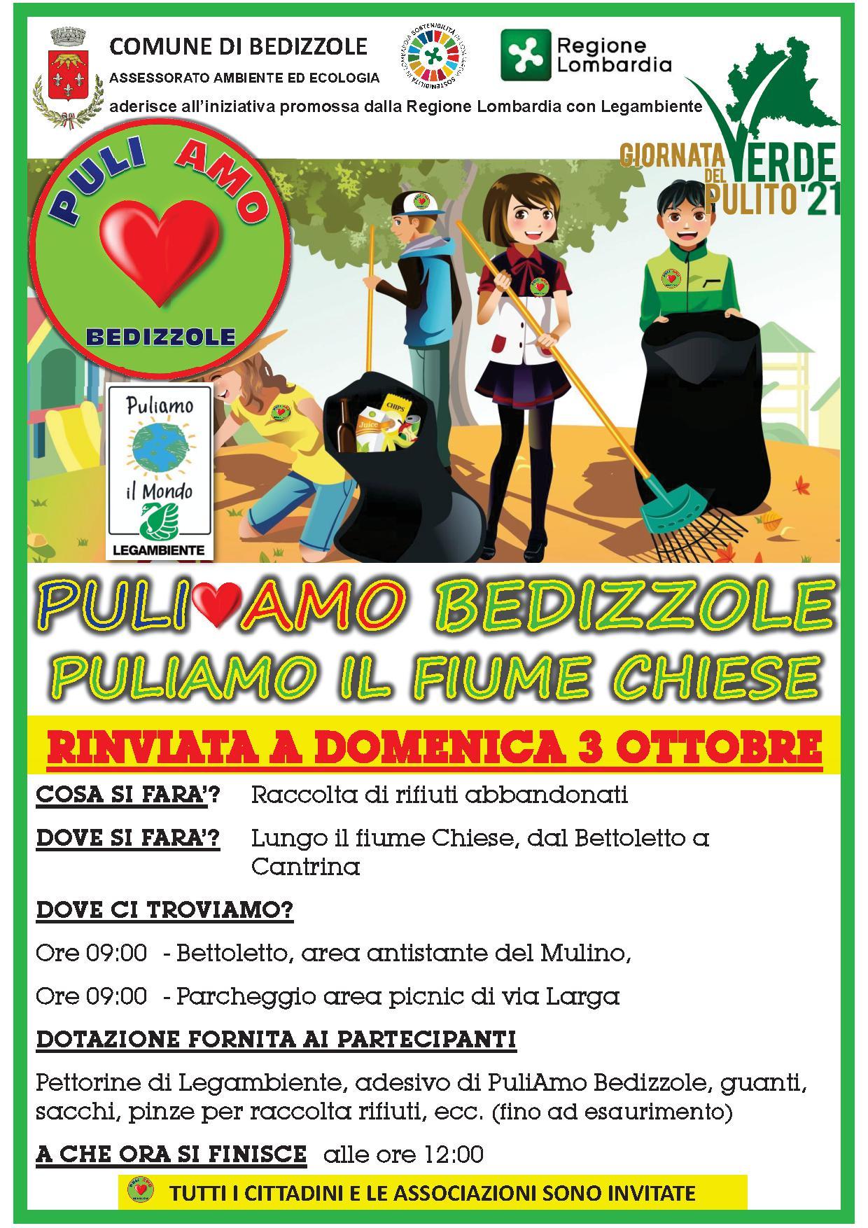 PuliAMO Bedizzole - Edizione 2021